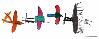 Colégio Oswald de Andrade Desenho de Criança