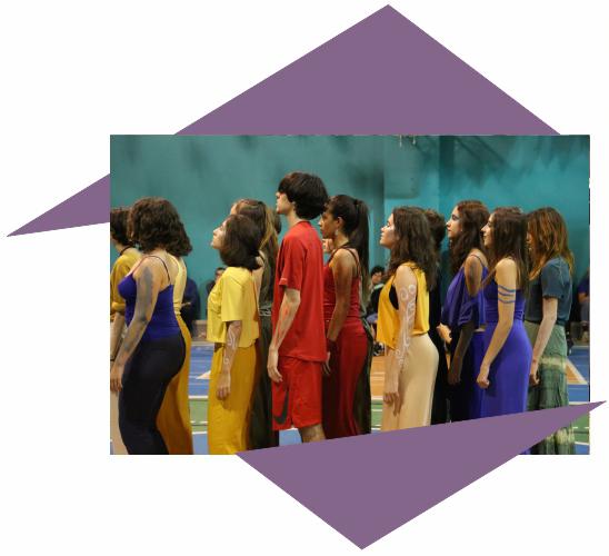 Artes, Corpo e Movimento do Colégio Oswald de Andrade