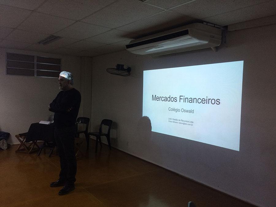 apresentação sobre mercado financeiro
