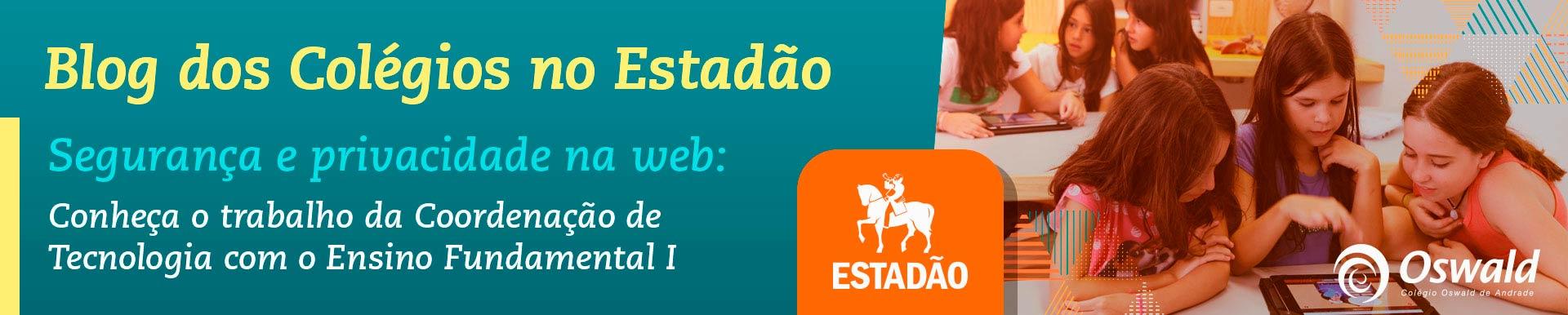 Colégio Oswald de Andrade Blog do Estadão