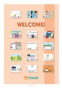 Folder Projeto Hostel WELCOME do Colégio Oswald de Andrade