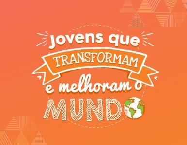 Banner mobile Jovens que transformam o mundo